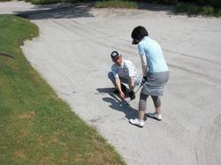 ゴルフトラブルの対処